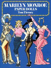 Marilyn Monroe Paper Dolls -cheaper than actual dolls!