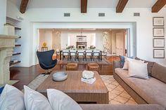 We peek inside Tobey Maguire's sprawling midcentury home in Los Angeles
