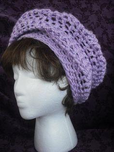 SALE Super Slouch Hat Crochet PDF pattern.
