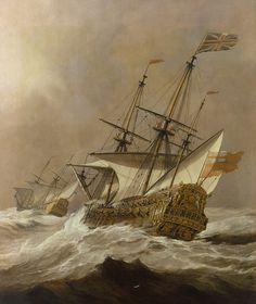 https://flic.kr/p/HqF5At   Willem van de Velde - the Resolution, 1678