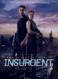 I want to watch this movie so bad Divergent Insurgent Allegiant, Divergent Series, Shailene Woodley, Theo James, Soundtrack, Brave, Guys, Movie Posters, Movies