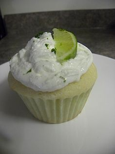 Margarita Cupcake...cake sounds good - not sure about the frosting.