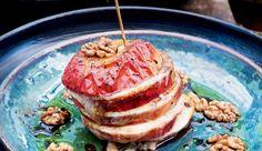 Appel met mozzarella in de oven - Pascale Naessens Pureed Food Recipes, Vegetarian Recipes, Healthy Recipes, Mozarella, Tapas, Paleo, Keto, Clean Eating, Food Porn