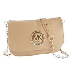 MICHAELKORS.COM - Michael Kors Fulton Messenger Medium Apricot Crossbody Bag - $64.99 (sale)