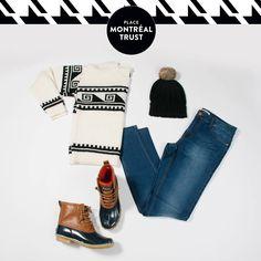 #PMTLook  Prête pour le #chalet ? Ready for the #cottage?  Retrouvez ces items chez VERO MODA et Winners. #Fashion #Shopping #Mtl #PMT #Look #OOTD