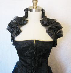 e006ded350d6 Victorian Shrug by thesecretboutique on Etsy Secret Boutique, Masquerade  Dresses, Steampunk Accessories, One