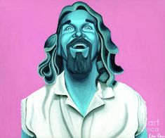 The Dude - Painting by Ellen Patton