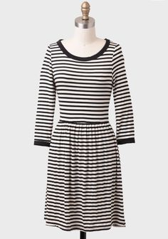 Fine By Me Striped Dress at #Ruche @mimi ヾ(^∇^)   Made in USA