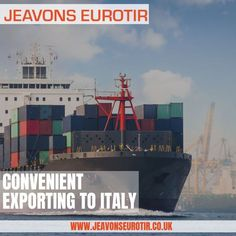 Jeavons are expert in Transportation and logistics services and are trusted by many around the world. If you are looking to export to Italy at affordable rates, then contact our team to get a quote. Globe Business, Business Centre, Business Look, Bright Horizons, International Companies, Germany And Italy, Paphos, Goods And Services, Birmingham
