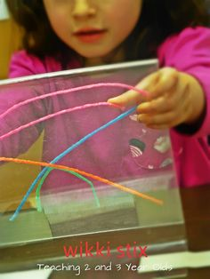 Teaching 2 and 3 Year Olds: February Activities - Weeks 3 and 4 - Wikki Stix