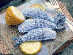 sardines tricotées (préparation du barbecue) - citronnelle-églantine