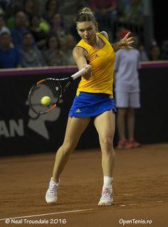 Simona Halep of Romania
