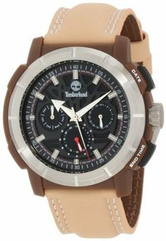 Timberland Men's 13325JPBNS_02 Edgewood Analog Multifunction 3 Hands Day Date Dual Time Watch Timberland. $150.00. Case diameter: 44 x 48 mm. Durable material crystal. Mineral glass with sapphire coating. Water-resistant to 50 M (165 feet). Quartz movement