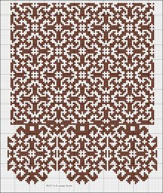 Cruciform Rosette all-over pattern