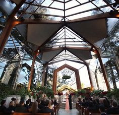 Wayfarers Chapel in Rancho Palos Verdes, California | 22 Of The Coolest Places To Get Married InAmerica