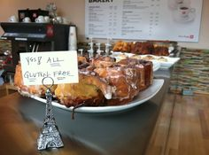 100% gluten free sweet treats will be served by Coffee & A Specialty Bakery at Arcade Lights!