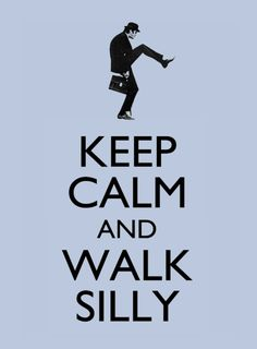 Ministry of Silly Walks all the way!