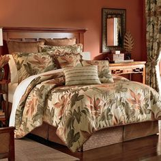 Croscill Bali Comforter Collection - 20% Off & Shipping - The Home Decorating Company