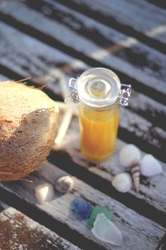 All Natural SPF Sun Oil Recipe #DIY #sunscreen