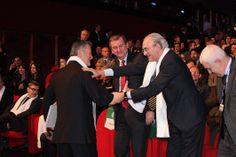 Ivan Malavasi, presidente uscente della CNA Nazionale, e Sergio Silvestrini, segretario della CNA Nazionale