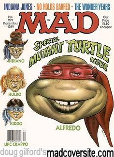 60 hilarious sci-fi spoof covers from 60 years of MAD magazine Comic Book Covers, Comic Books, Alfred E Neuman, Mad Magazine, Magazine Covers, Magazine Rack, American Humor, Mad Tv, Mad World