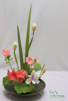 By Kim Ta <--- I'd love to take an ikebana class one day.