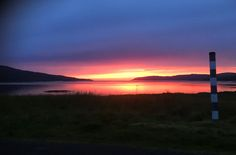 Capture a sunset on the mobile, view from near Ulva Ferry http://www.isleofmullselfcatering.co.uk