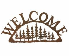 Сосновый лес Металл Добро пожаловать Войти