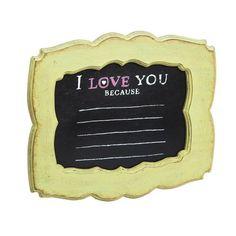 I Love You Mad Lib Chalkboard Art by Evergreen Enterprises