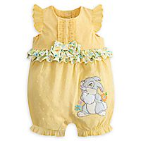 Girls' Clothing Disney Store Thumper Spring Romper For Baby Contrast Ruffles & Bow Easter Nwt Baby Kids Clothes, Baby & Toddler Clothing, Toddler Outfits, Disney Baby Clothes Girl, Outfits Niños, Kids Outfits, Disney Baby Outfits, Disney Babys, Fashion Kids