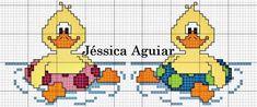 Ângela Bordados: A Jéssica Aguiar fez estes patinhos fofos para nos presentar...amei e vocês?