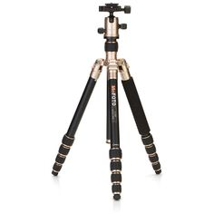 MeFOTO RoadTrip Convertible Tripod, Gold #photography #photographyproducts #holidayideas #giftguide #holidaygiftguide #giftsunder200