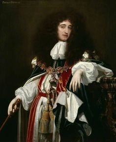 The Athenaeum - VERELST, Simon Pietersz Dutch Baroque Era (1644-1721)_Prince Rupert of the Rhine, Count Palatine, Duke of Cumberland- circa 1680