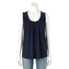 GV Editions Pleated Chain Tank - Women's