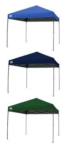 Perfect for #tailgating: Quik Shade Weekender Elite 100 Instant Canopy (10x10): Blue and Green (available at #OrchardSupplyHardware); Twilight Blue (available at #Target.com) #QuikShade