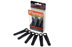 Flymo Genuine Part Number 5127500907 Lawnmower Plastic Blades. FLY013 for E30-7,Minimo E25,Minimo E30,Minimo Plus XE,Minimo S by Flymo
