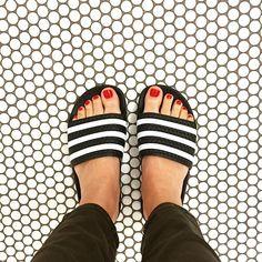 Taylor Davies | adidas Originals Men's Adilette Slide Sandal 