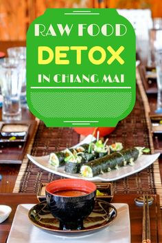 Raw Food Detox Near Chiang Mai, Thailand. Click here to find out more!  #Thailand #vegan
