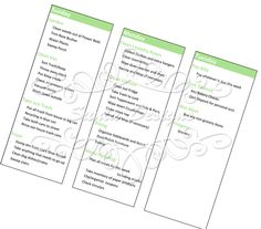 Sunla Designs: Freebies: Household Notebook- Detailed Focus List