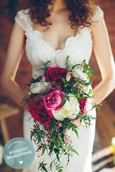 This gorgeous Urban Bohemian Wedding Inspiration shoot may have gone up on the blog a year ago, but every last rich, rustic detail is still just as stunning and inspiring today. Example: this bouquet created by ...