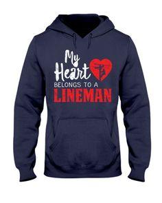 Proud Lineman | TeeChip Lineman Gifts, Custom Printed Shirts, Print Store, Breast Cancer Awareness, Rib Knit, Cuffs, Tees, Sweatshirts, Pouch