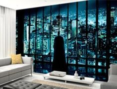 Batman Wallpaper | Batman Wall Murals | Wallsauce.com