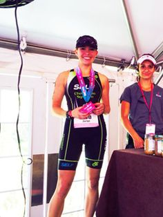 What NOT to Do During Your Next Triathlon : SELF's associate fitness editor is a triathloning beast. See what the babe does to get herself podium-ready. #SelfMagazine