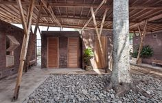 Beautiful Design/Architecture at Cassia Coop Training Centre in Indonesia. Form meets function, beautifully.