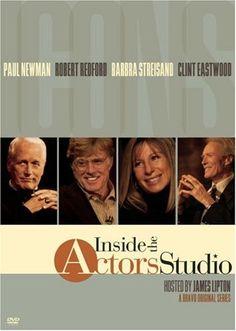 Inside The Actors Studio - Icons: Paul Newman / Robert Redford / Barbra Streisand / Clint Eastwood $11.50