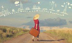 10 destinos ideales para que una mujer viaje sola.
