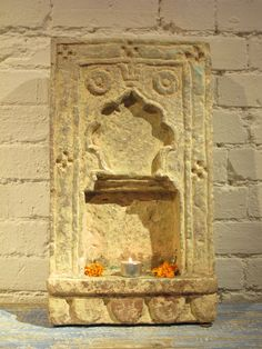 Stone Lamp Niche from Rajasthan - 19thC