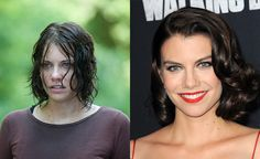 'The Walking Dead' Cast Looks Totally Different Out Of Costume  Lauren Cohan as Maggie