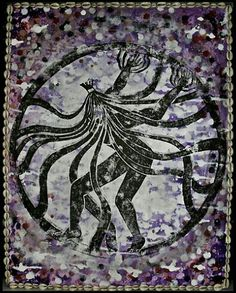 Babalú Ayé , Omolu, Orixa of sickness and health by Ginga Helen Dos Santos Caribbean Culture, Caribbean Art, Babalu Aye, Yoruba People, African Diaspora, Fantasy Inspiration, Science, Deities, Mythology