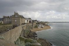 Saint Malo, France ~  a beautiful, old walled city